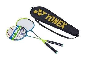 Набор для бадминтона (2 ракетки, чехол) Yonex BD-5531-B сине-желтый