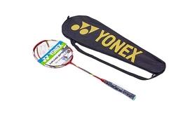 Ракетка для бадминтона профессиональная Yonex BD-5671-3 красный-желтая