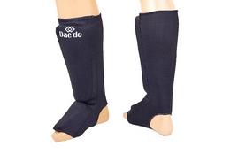 Защита для ног (голень+стопа) трикотажная Daedo BO-5486-BK черная
