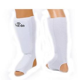 Защита для ног (голень+стопа) трикотажная Daedo BO-5486-W белая