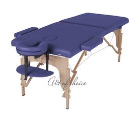 Фото 1 к товару Стол массажный портативный TEO Art of Choice синий