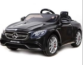 Электромобиль детский Baby Tilly T-799 Mercedes S63 AMG черный
