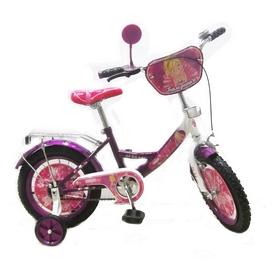 "Велосипед детский Baby Tilly T-21424 ""Балеринка"" 14"" dark purple/white"