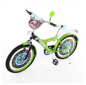 """Велосипед детский Baby Tilly T-21423 """"Мотогонщик"""" 20"""" green/black"""