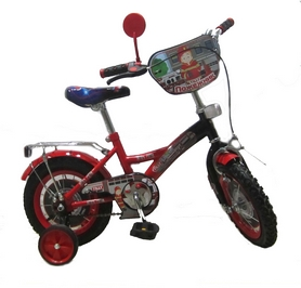 """Велосипед детский Baby Tilly T-21224 """"Пожарник"""" 12"""" red/black"""