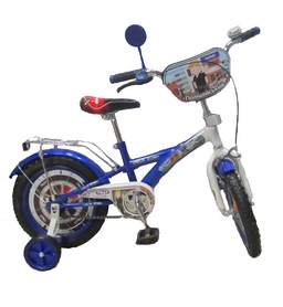 """Велосипед детский Baby Tilly T-21425 """"Полицейский"""" 14"""" blue/white"""