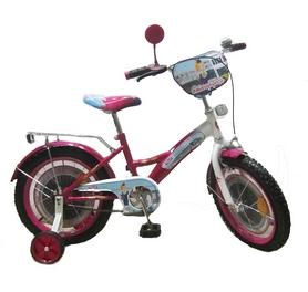 """Велосипед детский Baby Tilly T-21626 """"Стюардеса"""" 16"""" dark crimson/white"""