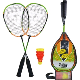Набор для бадминтона (2 ракетки, 3 волана) Talbot Torro Speed badminton Set Speed 2000