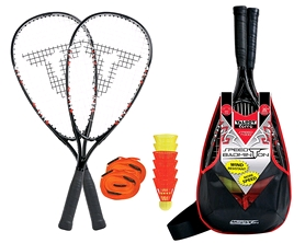 Набор для бадминтона (2 ракетки, 6 воланов) Talbot Torro Speedbadminton Set Speed 7000