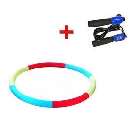 Обруч здоровья массажный Onhillsport 800мм 3 кг + подарок