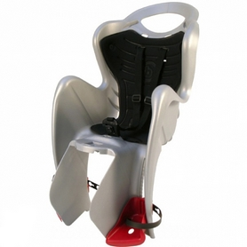 Велокресло детское Bellelli Mr Fox Relax серебряно-чёрное