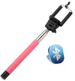 Монопод для селфи со встроeнным Bluetooth UFT SS21 Pink