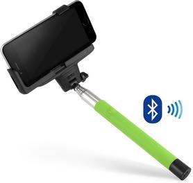 Монопод для селфи со встроeнным Bluetooth UFT SS24 Light Green