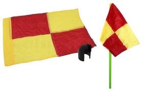 Флаг угловой (полотно) с клипсой для крепления к штанге Soccer C-4597