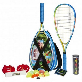 Набор для спидминтона (2 ракетки, 5 воланов) Speedminton S700 Set