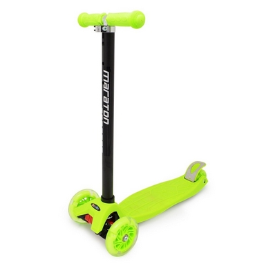 Самокат трехколесный Maraton Scooter 98 Зеленый