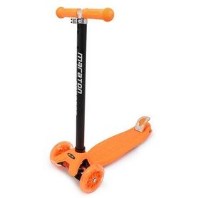 Самокат трехколесный Maraton Scooter 98 Оранжевый