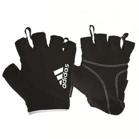 Перчатки для фитнесаAdidasADGB-1232WH белые -M