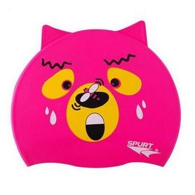 Шапочка для плавания детская Spurt Bear 11-3-090 розовая