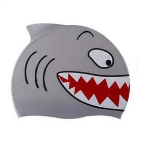 Шапочка для плавания детская Spurt Shark 11-3-089 серая