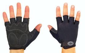 Велоперчатки текстильные Scoyco ВG02-BK черные