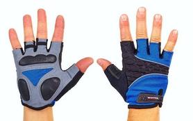Велоперчатки текстильные Scoyco BG03-B синие
