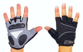 Велоперчатки текстильные Scoyco ВG03-BK черные