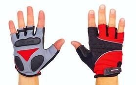 Велоперчатки текстильные Scoyco ВG03-R красные