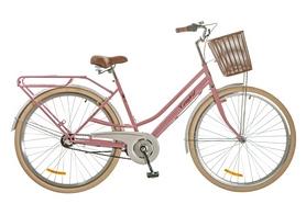 """Велосипед городской женский Dorozhnik Comfort Female 14G Planеtary hub 28"""" 2017 персиковый, рама - 19"""""""