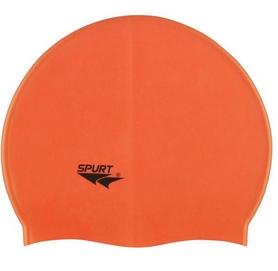 Шапочка для плавания Spurt Solid color G503 orange 2018