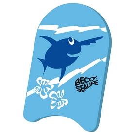Доска для плавания детская Beco Sealife Kickboard 9653 6 голубая