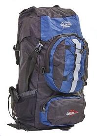 Рюкзак туристический Color Life 106-DB 75 л темно-синий