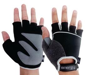 Перчатки велосипедные Energy 7015 черные