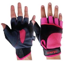 Перчатки велосипедные Energy 7016 черные