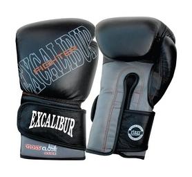 Перчатки боксерские Excalibur 529-07 черные - 14oz 2018