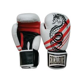 Перчатки боксерские Excalibur 542 белые