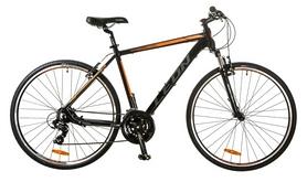 """Велосипед горный Leon HD-85 AM 14G Vbr 28"""" 2017 черно-оранжевый, рама - 19"""""""