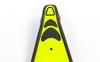 Ласты с закрытой пяткой Dorfin (ZLT) желтые, размер - 42-43 - фото 3
