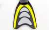 Ласты с закрытой пяткой Dorfin (ZLT) желтые, размер - 42-43 - фото 4
