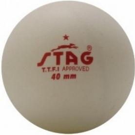 Набор мячей для настольного тенниса Stag One Star White Ball (6 шт)