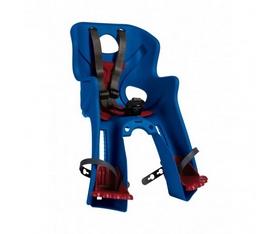 Кресло велосипедное детское Bellelli Rabbit Handlefix сине-красное