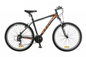 """Велосипед горный Leon HT-85 AM 14G 26"""" 2016 черно-оранжевый, рама - 20"""""""