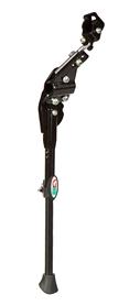 """Подножка велосипедная Green Cycle CD-168 26-28"""" черная"""