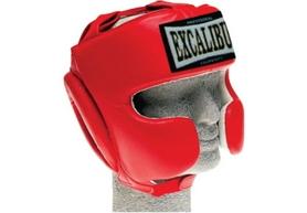 Шлем боксерский Excalibur 716 красный