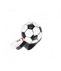 Звонок велосипедный Green Cycle GCB-023A-BK Футбольный мяч