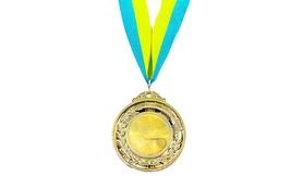 Медаль спортивная ZLT Hit C-3218-G золотая