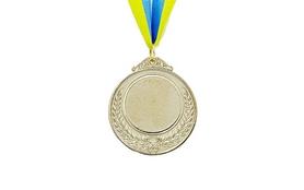 Медаль спортивная ZLT Hit C-4332-2 серебро