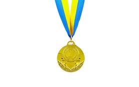 Медаль спортивная ZLT C-4842-1 золото