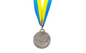 Медаль спортивная ZLT C-4842-2 серебро
