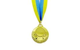 Медаль спортивная ZLT Aim C-4846-1 золотая